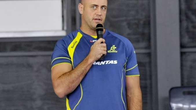 Wallabies player Nathan Sharpe.