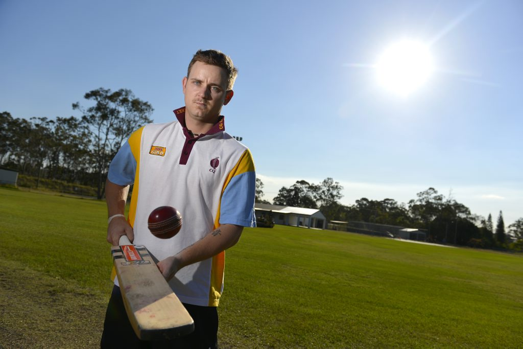 CQ Captain Dan Williams is looking forward to the 2nd round of the North Queensland Cricket Alliance Championships. Photo Christopher Chan / The Observer