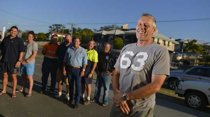 Mark Graham is the inaugral president of Gladstone's Men of League. Photo Christopher Chan / The Observer