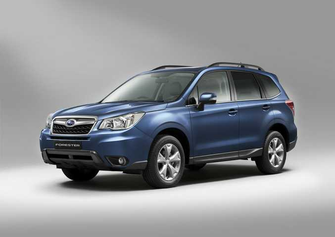 The next Subaru Forester will arrive here early next year.