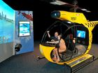 IN CONTROL: The interactive Rescue exhibition opens at the Ipswich Art Gallery tomorrow.