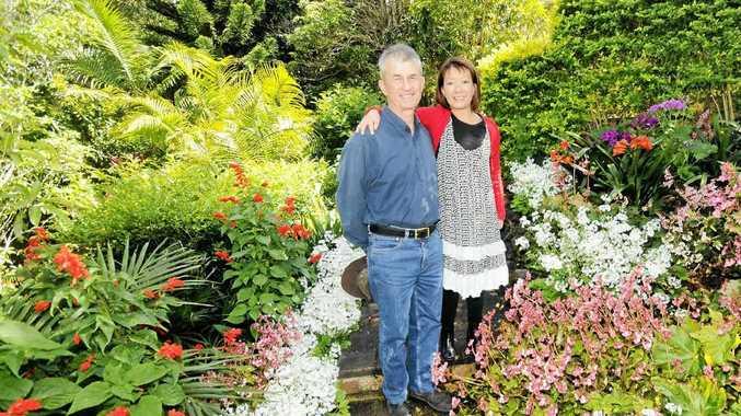 PARK LIKE: Garden Winners 2012. Mark and Jennifer Wade, City View Drive East St Lismore.