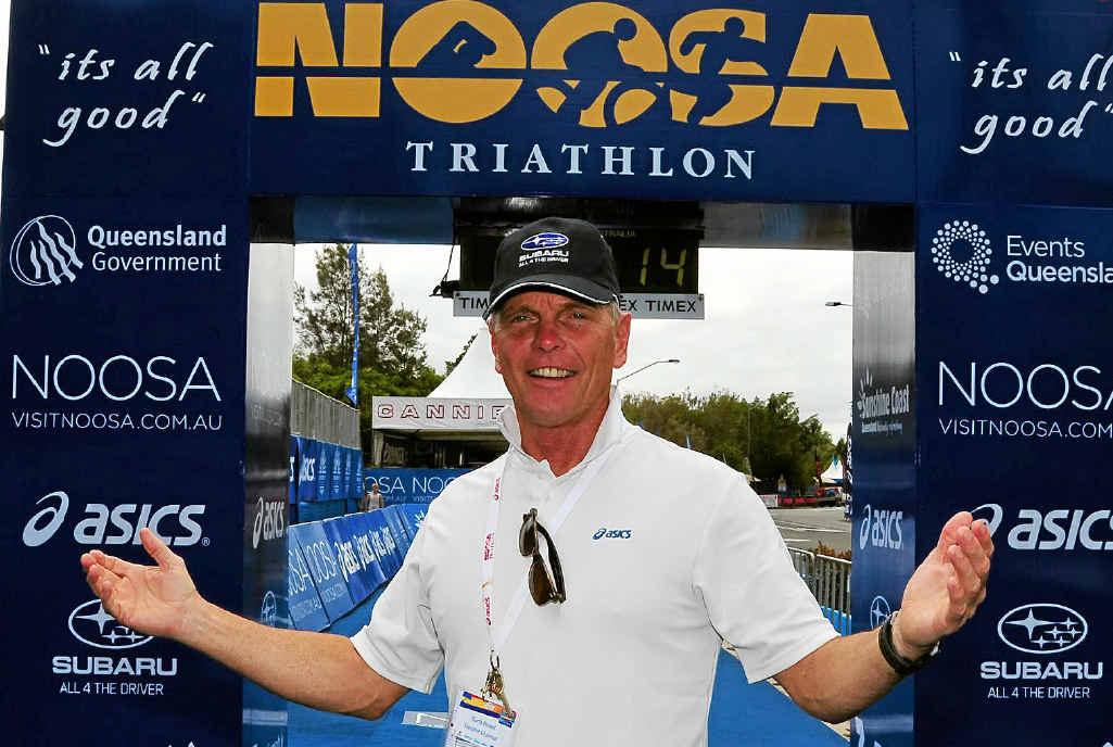Mr Triathlon, Garth Prowd.