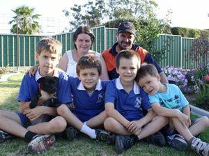 Parents battle to help sons a true labour of love