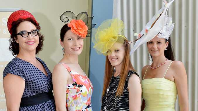 Vicky Brooke, Maree Schick, Gordayna Bettridge and Amanda Doull step out in style at the Spring Showcase.