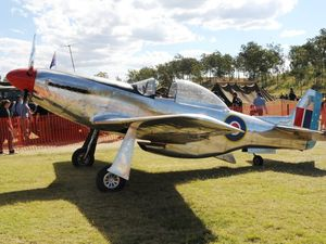 Home-built Mustang replica flies