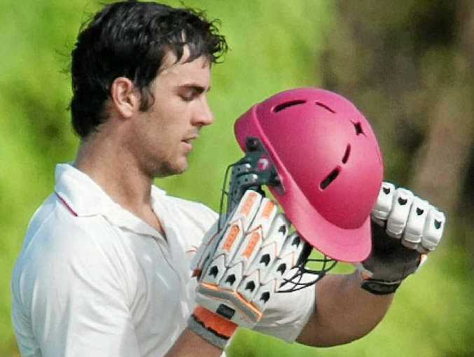 NOT OUT 11: The Scorchers' Alecz Day may well need that helmet against the Hornets on what may be a lively pitch.