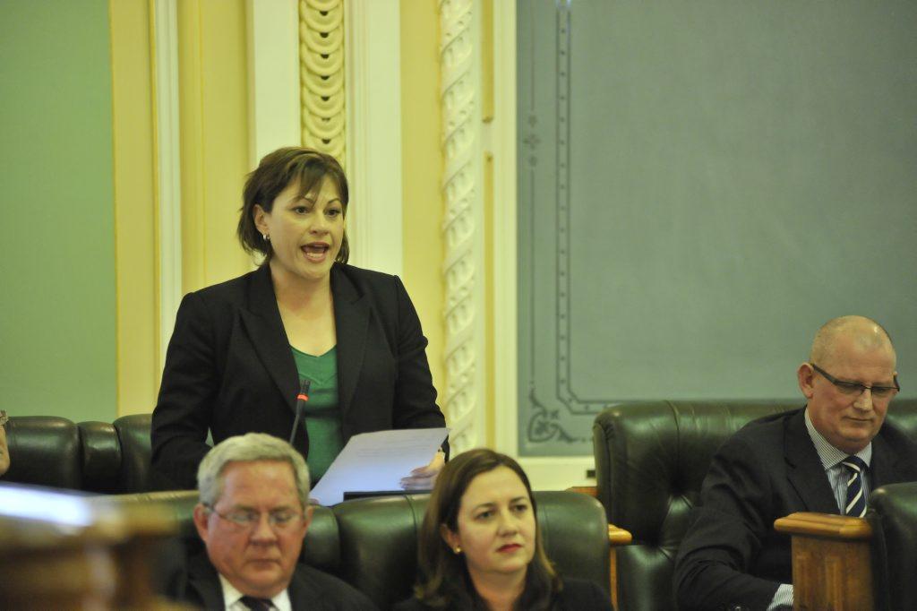 South Brisbane MP Jackie Trad. Photo: Greg Miller / Sunshine Coast Daily.