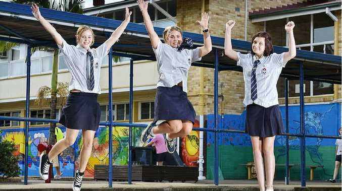 LET'S GO: Ipswich State High School year 12 students are excited about their post-formal event.