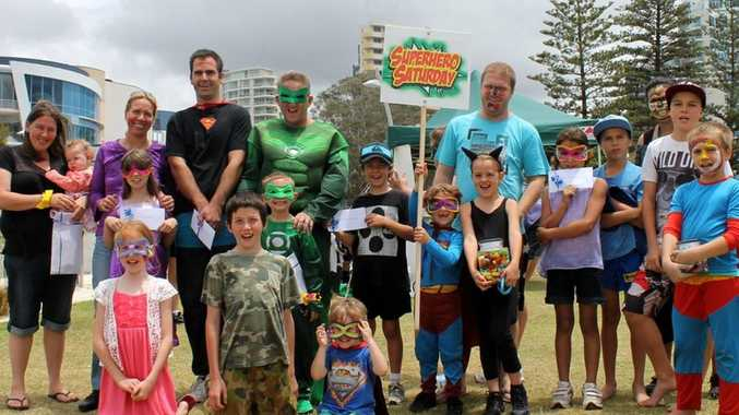 Caption: Super Hero Saturday brought families from all over the Tweed together for a day of fun. Photo Contributed