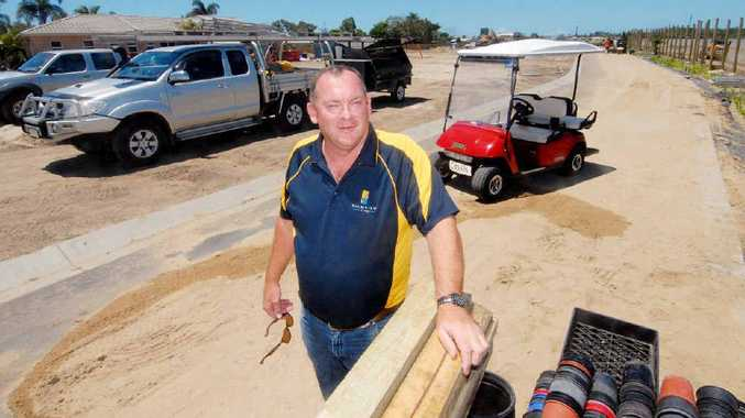 A development unfolding on Sams Rd at North Mackay has created lots of interest and a number of phone calls to Palmview Village's general manager, Phil Giles. The site is in fact an extension of the retirement centre.