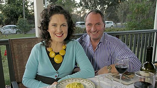 COOKING UP A STORM: Following his appearance on Kitchen Cabinet, host Annabel Crabb says she believes Senator Barnaby Joyce is a cooking talent. Photo courtesy of the ABC.