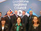 Gladstone Region's Councillors. Back row: Deputy Mayor Matt Burnett, Col Chapman, Rick Hansen, Leo Neill-Ballantine, Ren Lanzon, Graham McDonald. Front row: Maxine Brushe, Mayor Gail Sellers, Karen Porter.