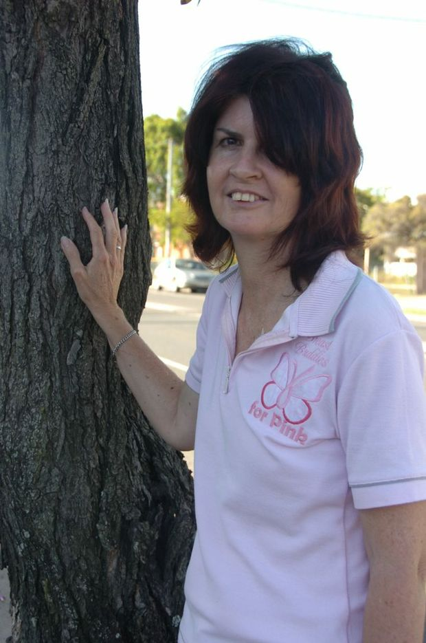 Gladstone Breast Buddy co-ordinator and breast cancer survivor Kim Warner.