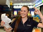 Hundreds line up for chance at $100 million dream win