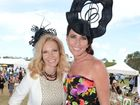Melbourne Cup celebrations at Corbould Park. Fashion winners Janine Ferguson and Sharon Brockhurst Photo:Warren Lynam / Sunshine Coast Daily