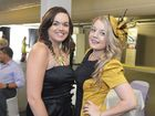 Melbourne Cup day hosted by the GEA, GAPDL and the Gladstone Observer at the Mercure Yaralla Sports Club, corner of Wood and Bell Street, Gladstone. Amanda Scurr and Amanda Pershouse. Photo Christopher Chan / The Observer