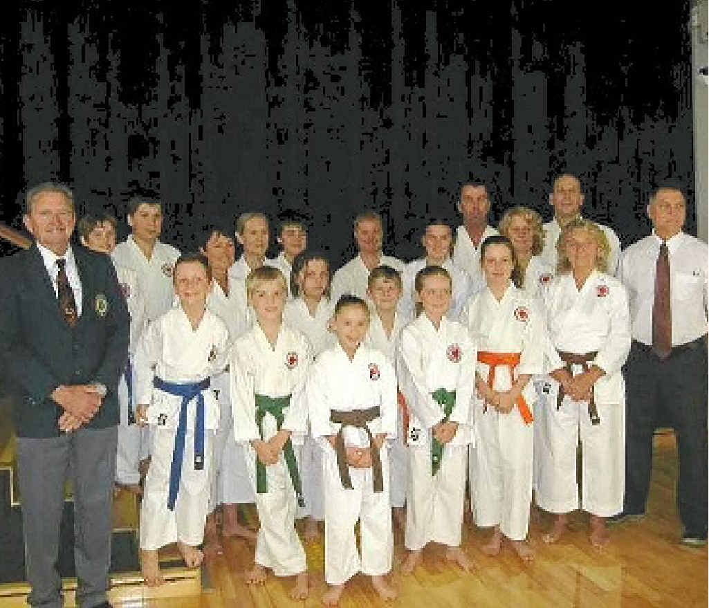 Members of Gympie Karate Club competed in Coolum.
