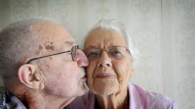 LUCKY IN LOVE: Ernie, 94 and Meg, 91, Piccoli celebrate their 70th anniversary at the house they have lived in for more than 40 years in Casino.