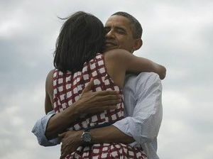 'Four more years' for Barack Obama