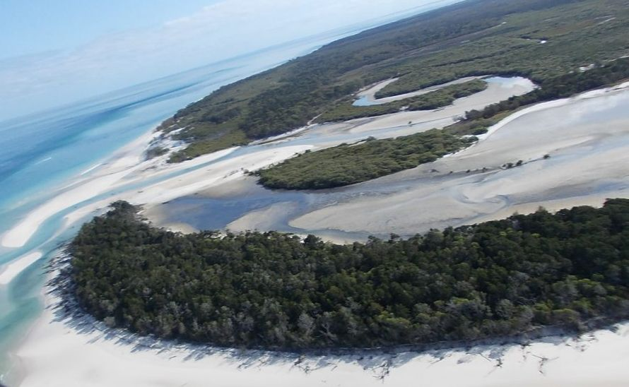 New book names a beach on Fraser Island as one of the nation's best.