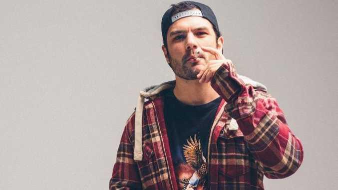 Australian hip hop artist Seth Sentry.