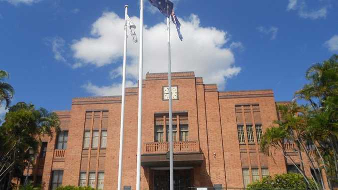 Rockhampton Regional Council's city hall on Bolsover St. The pound is not located here, but on Quay St.