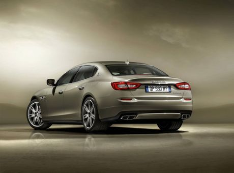 The new Maserati Quattroporte.