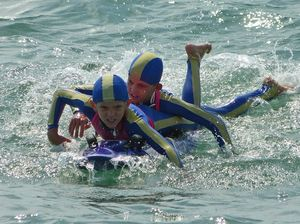 Nippers mix with best in Mackay at North Australian Champs