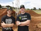 Excitement and track build ahead of supercross mayhem