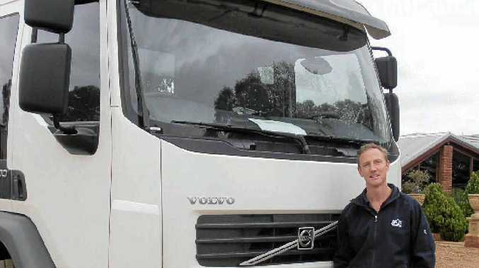 SWITCHED ON: Avon Waste's Ashley Fisher made the change to an FE Volvo to replace an Iveco due for retirement. Comfort, and braking performance were the deciders. Photo: David Meredith