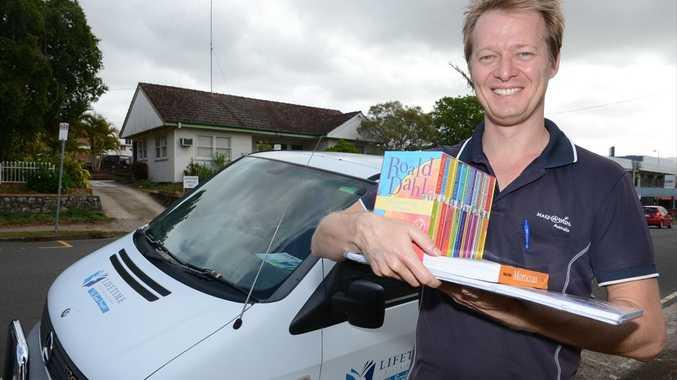 Lifetime Distributor Sunshine Coast franchisee John Balchin makes a delivery.
