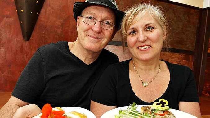 It's Rawsome cafe owners Gerald Short and his wife Susanna Stavenhagen-Short.