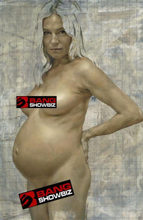 Jonathan Yeo's portrait of Sienna Miller