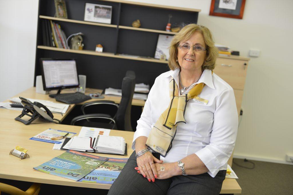 Gladstone Property Plus principal Wendy Burke.