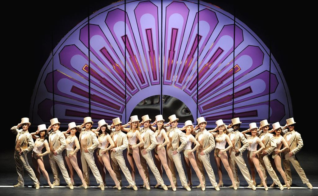 A scene from the musical A Chorus Line.