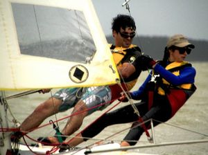 Sailors face wind challenge in third championship race