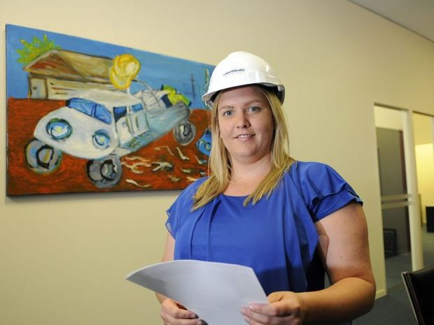 Michelle Cirsan enjoys the challenges her job offers.