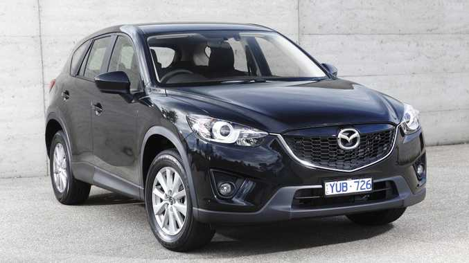 The Mazda CX-5 will be available with a more powerful engine next month.