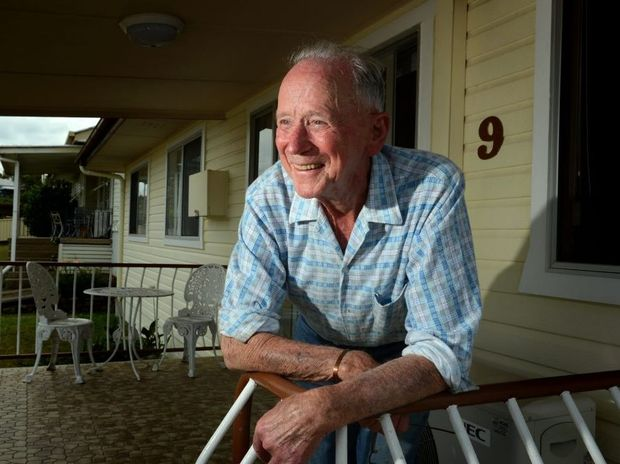 Ernie Cobb. WW11 veteran. Photo: John Gass / Daily News