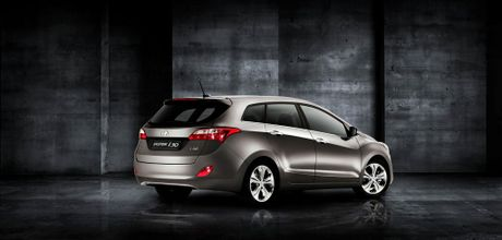 The Hyundai i30 Tourer.