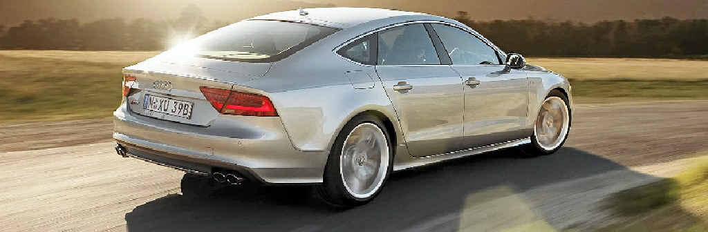 The Audi S7 Sportback.