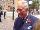 Thousands flock to Circular Quay to see Prince Charles