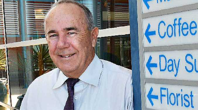 Mackay Mater Hospital executive officer John Nugent has retired after a 35-year career in the health industry.