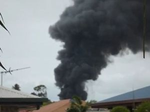 Fire at ToysRus in Mackay