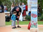 As poppies laid, children reminded war is not a game
