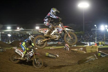 Catch some high octane action at the Australian Supercross Championships.