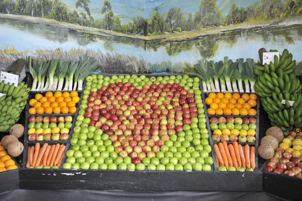 LOCAL Produce at the 2012 Mullumbimby Show.