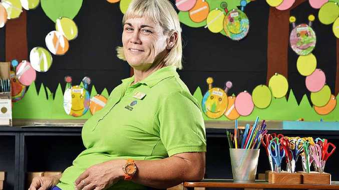 MILESTONE: Bundamba State School teacher Robyn Robertson has been teaching for 20 years.