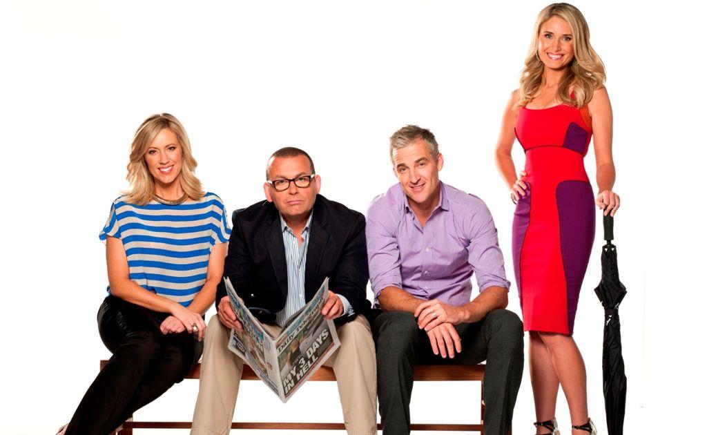 The cast of Ten's breakfast show.